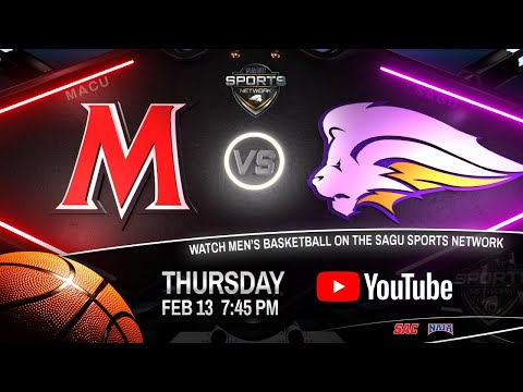 Mid-America Christian vs SAGU - NAIA Men's Basketball 2020