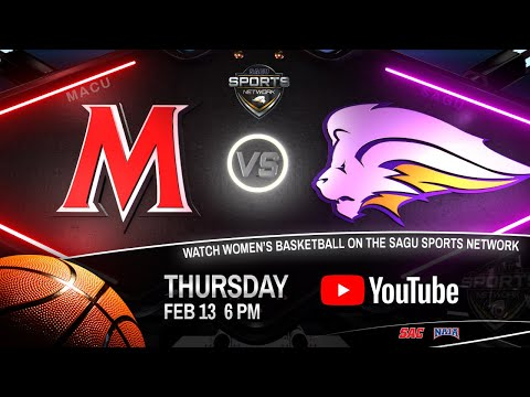 Mid-America Christian vs SAGU - NAIA Women's Basketball 2020
