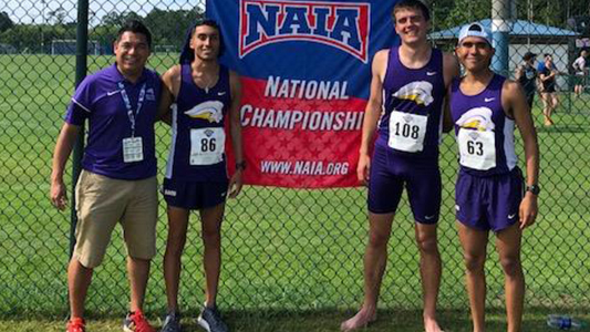 SAGU Track Competes at NAIA National Championships