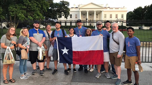 Criminal Justice Students Tour Capital & Train with Law Enforcement