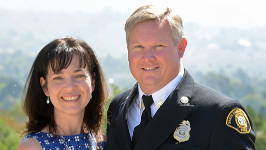 SAGU Alumnus Serves as Fire Division Chief in Santa Barbara
