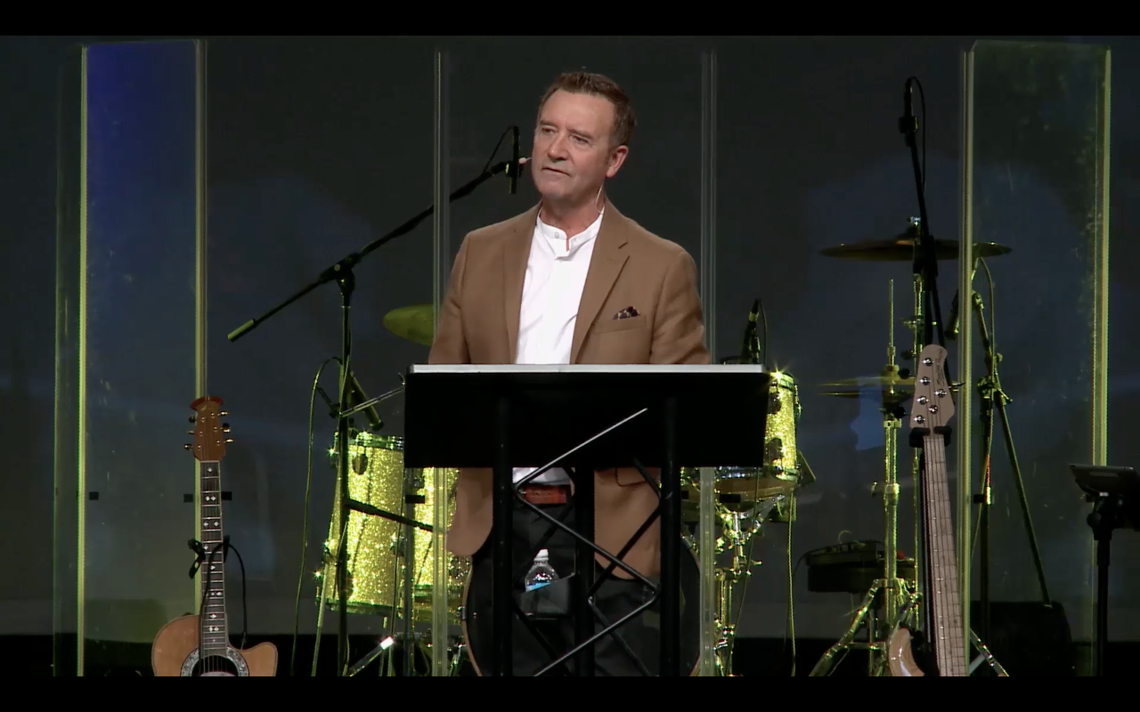 Mike Robertson speaks on no limitations in you life if you seek God's supernatural power.