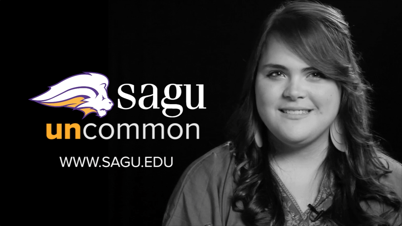 Bethany Womack explains why she chose to come to SAGU as well as her favorite things about our university.
