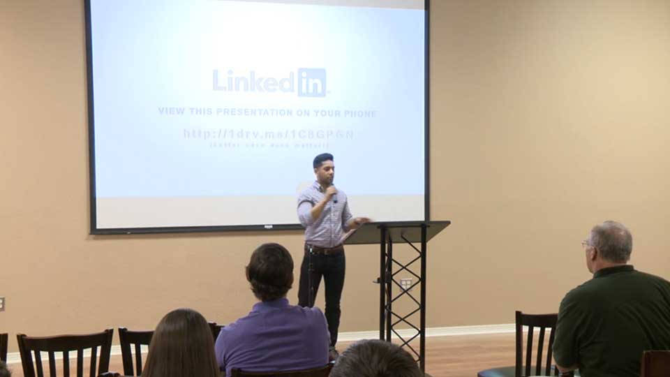 Linkedin Seminar Provided by Career Services