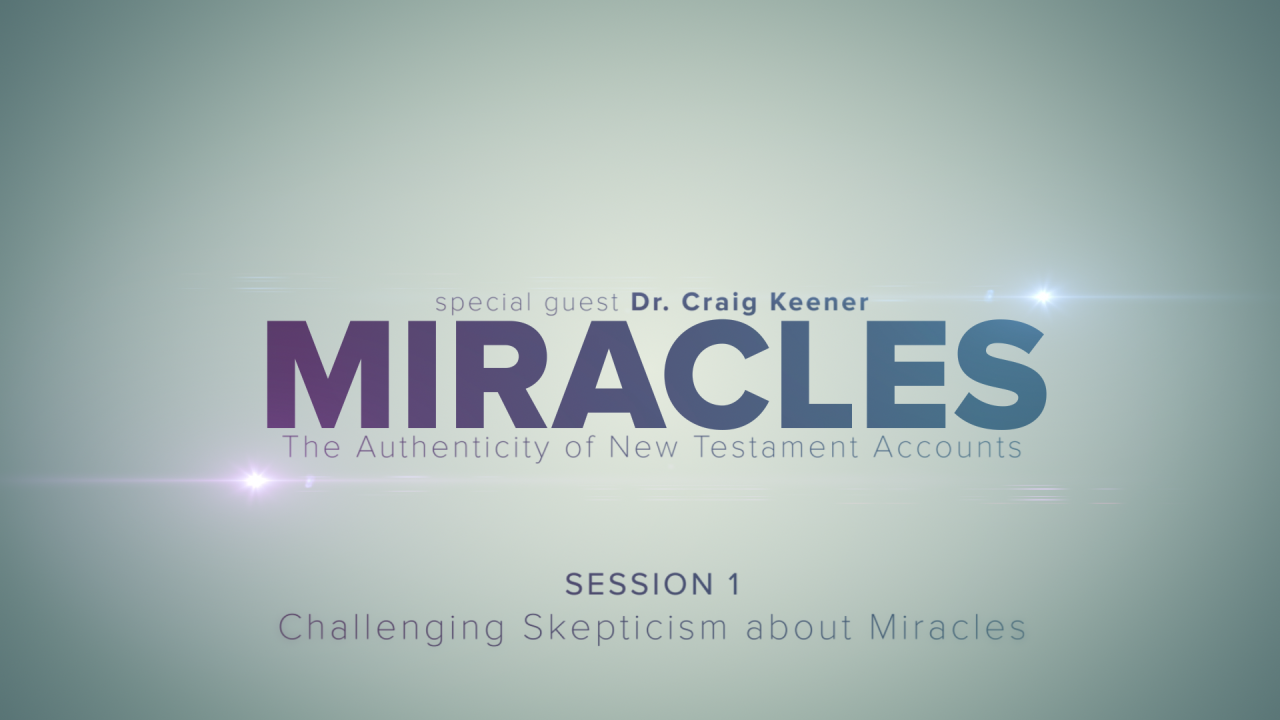 In this session, Craig Keener discusses the different views skeptics hold about miracles while providing statistical information about what American's think about miracles.