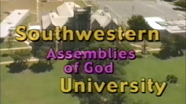 From the vault of university archives SAGU presents this promotional video from our past.